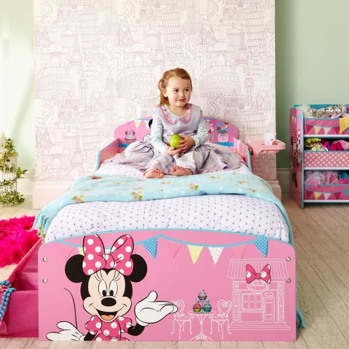 lit d 39 appoint minnie mouse. Black Bedroom Furniture Sets. Home Design Ideas