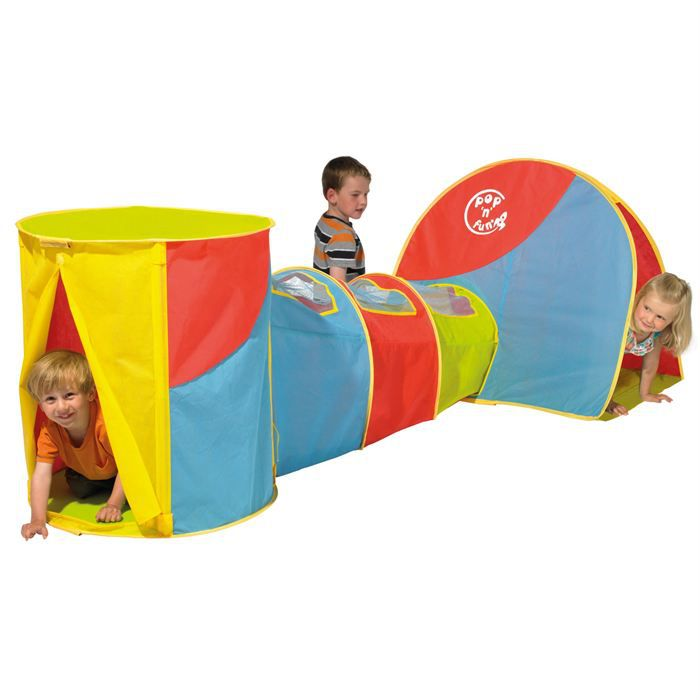 Combo g n rique wolrds achat vente tente tunnel d 39 activit cdiscount - Maison pop up enfant ...