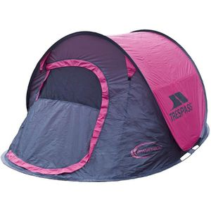 TENTE DE CAMPING TRESPASS Tente Pop Up 2 personnes Swift 2 Gerbera
