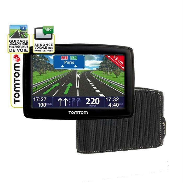 gps tomtom xxl classic europe housse achat vente gps