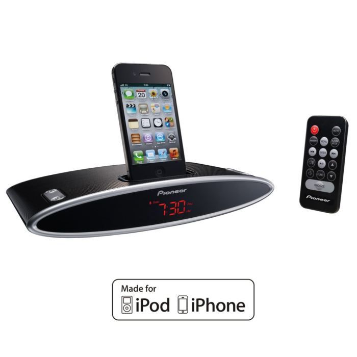 pioneer x ds301 k radio r veil dock ipod iphone radio. Black Bedroom Furniture Sets. Home Design Ideas