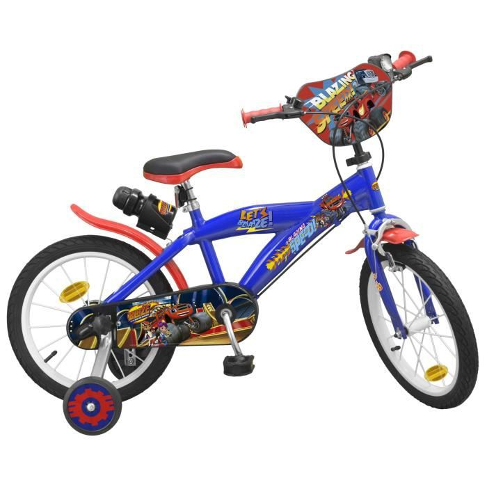 """VÉLO ENFANT Vélo 16"""" Blaze - Garçon - Bleu"""