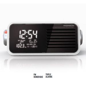 Radio réveil THOMSON CP301T Radio réveil numérique
