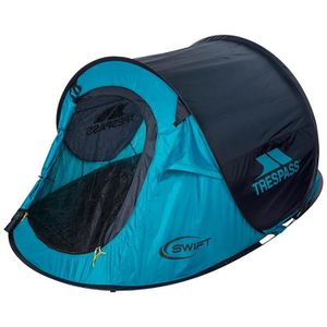 TENTE DE CAMPING TRESPASS Tente Pop Up 2 personnes Swift 2 - Turquo