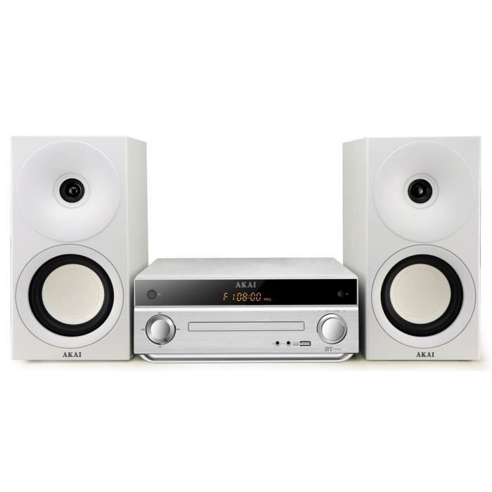 akai am 301w micro cha ne hifi cd mp3 bluetooth achat vente chaine hi fi akai am 301w prix. Black Bedroom Furniture Sets. Home Design Ideas