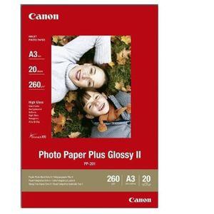 PAPIER PHOTO CANON Pack de 1  Papier photo plus 260g/m2 - PP-20