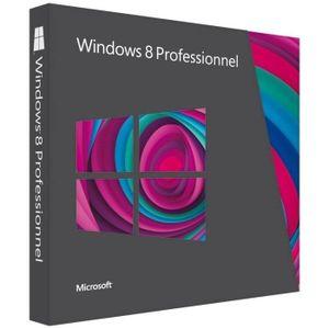 SYSTÈME D'EXPLOITATION Windows 8 Professionnel - Version mise à jour