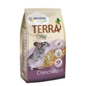 Lot de 2 - VADIGRAN Nourriture TERRA - Pour chinchilla - 1 kg