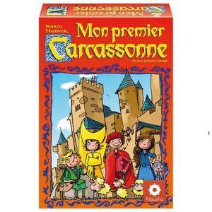 JEU SOCIÉTÉ - PLATEAU Carcassonne - Mon premier Carcassonne