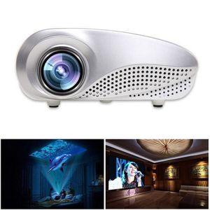 Vid/éoprojecteur LESHP 720P LED Protable Vid/éo Projecteur Multim/édia Home Cin/éma