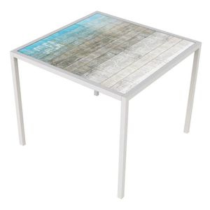 Table carre 90x90 extensible achat vente table carre - Table de repas carree extensible ...