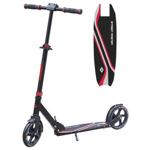 TROTTINETTE MTS Trottinette Adulte Street Master 200mm - Rouge