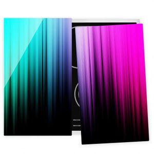 PLAQUE INDUCTION Couvre plaque de cuisson - Rainbow Display - 52x60