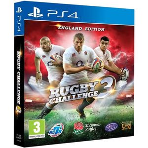 JEU PS4 RUGBY CHALLENGE 3