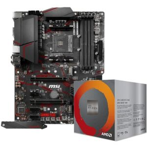 CARTE MÈRE Pack Carte mère MSI MPG X570 Gaming Plus + Ryzen 5