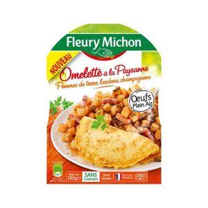 PLAT CUISINE - VIANDE  Omelette paysanne Fleury Michon - 280 g