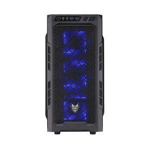 BOITIER PC  Boîtier Moyen Tour FSP CMT210 Noir
