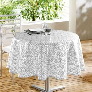 Articles De Cuisine Et D Art De La Table Nappe Table Creme Gris Et