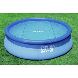BÂCHE - COUVERTURE  INTEX Bâche à bulles piscine ronde diamètre 2,44 m