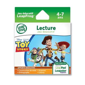 JEU CONSOLE EDUCATIVE TOY STORY 3 Explorer Jeu LeapPad LeapFrog