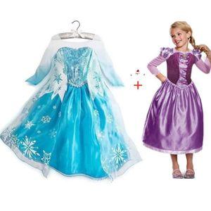 DÉGUISEMENT - PANOPLIE Robe Taille 3 À 14 Ans Fille Déguisement Princesse