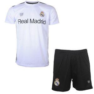 Ensemble de sous-v/êtements Real Madrid FC Fille B/éb/é 0 /à 24 Mois Rouge