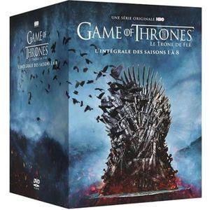 DVD SÉRIE Coffret Intégrale Game Of Thrones, Saisons 1 à 8 [