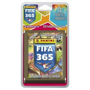 JEU DE STICKERS PANINI FIFA 365 2018 Blister de 15 Pochettes + 2 G