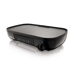 PLANCHA DE TABLE PHILIPS HD6320/20 Plancha 2 en 1 - 1500 W - Plaque