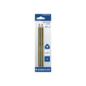 CRAYON GRAPHITE STAEDTLER Noris Club Jumbo Crayon HB 4 mm pack de