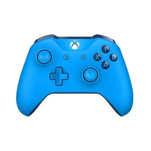 MANETTE JEUX VIDÉO Manette Xbox One S Bleue compatible PC