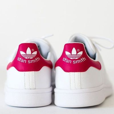 revendeur 81849 0bbf5 ADIDAS STAN SMITH BLANC ROSE TAILLE 38 NEUVES