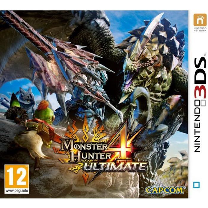 Monster Hunter 4 Ultimate - Jeu Nintendo 3DS