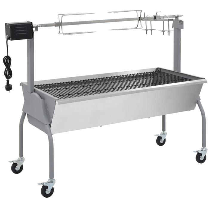 Rotisserie Weber 7494 tournebroche pour BBQ 57 cm électriques.Barbecue Broche