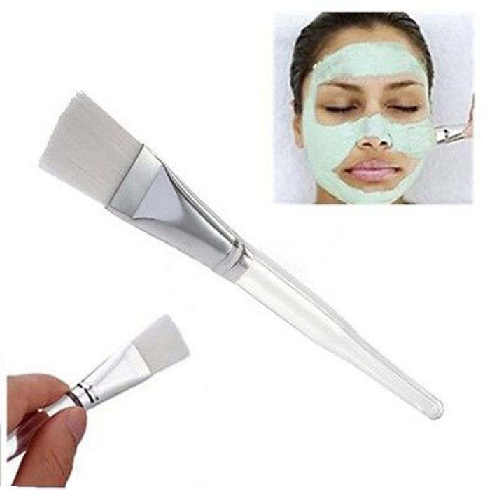 PINCEAUX DE MAQUILLAGE 1PCS cristal maquillage cosmétique beauté outil peau visage masque pour les yeux brosse FHU200401081_Ion