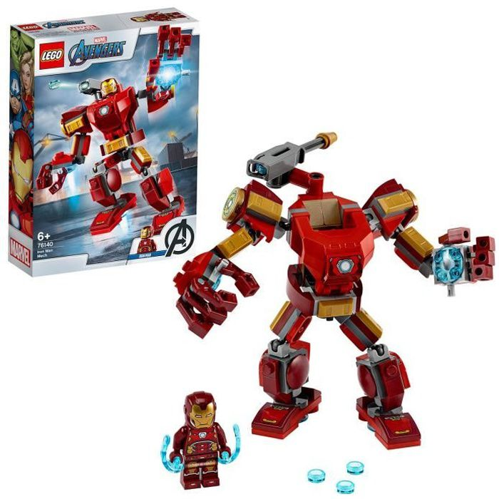 LEGO® Marvel Super Heroes 76140 Le robot d'Iron Man