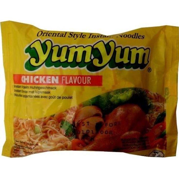 Yum Yum soupe de nouilles de poulet, 30 sacs