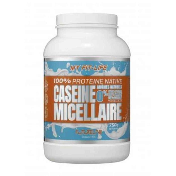 Protéine à digestion lente CASEINE MICELLAIRE 750g Chocolat
