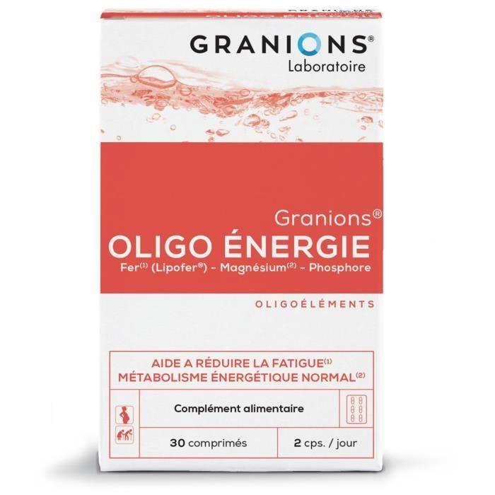 GRANIONS® OLIGO ÉNERGIE 30 COMPRIMÉS