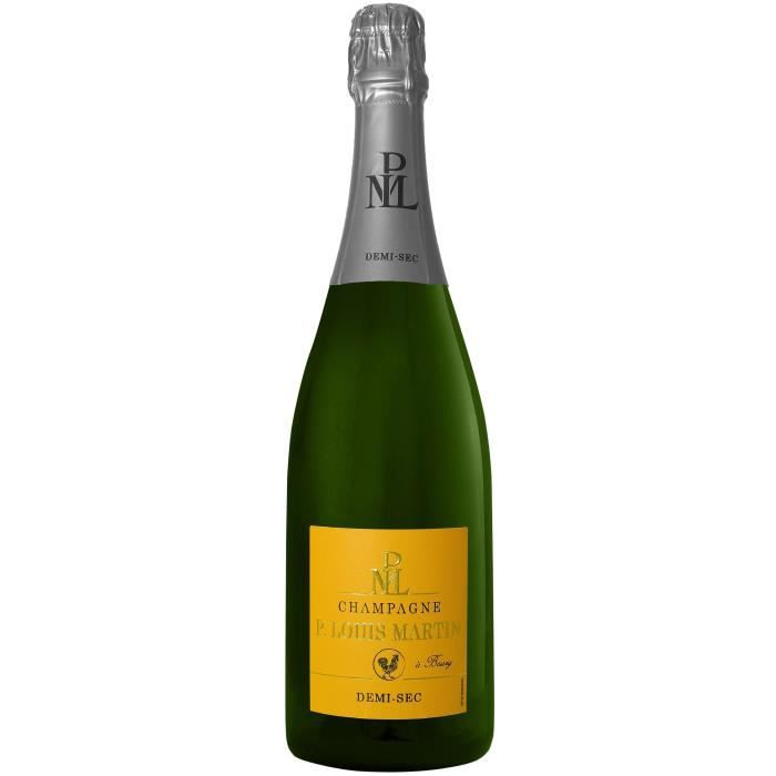 Champagne Paul Louis Martin Demi-sec - 75 cl
