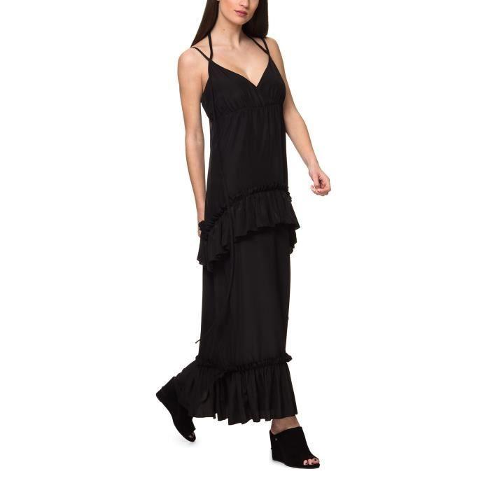 Sh By Silvian Heach Robe Noir Femme RNP18149VE-BLK