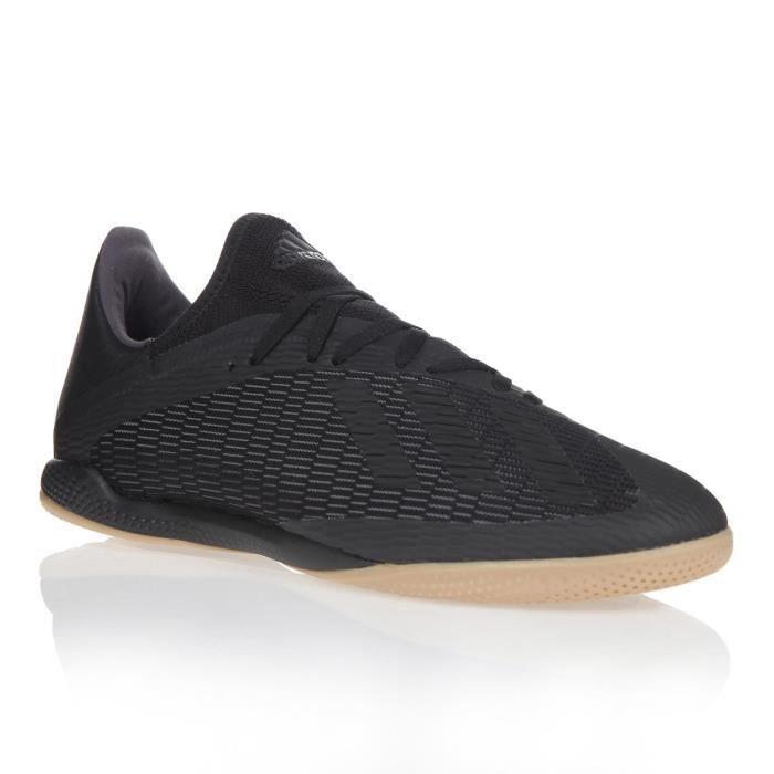 ADIDAS PERFORMANCE Chaussures de Futsal X19.3 IN - Homme - Noir/Argent
