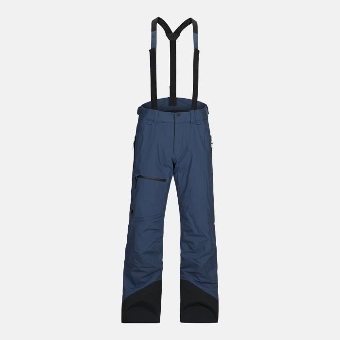 Pantalon De Ski/snow Peak Performance Alpine 2lp Decent Blue Homme