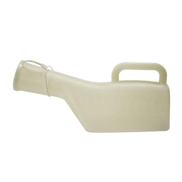 Pistolet urinoir urinal en plastique Hommes NOVOLIFE - 1 L