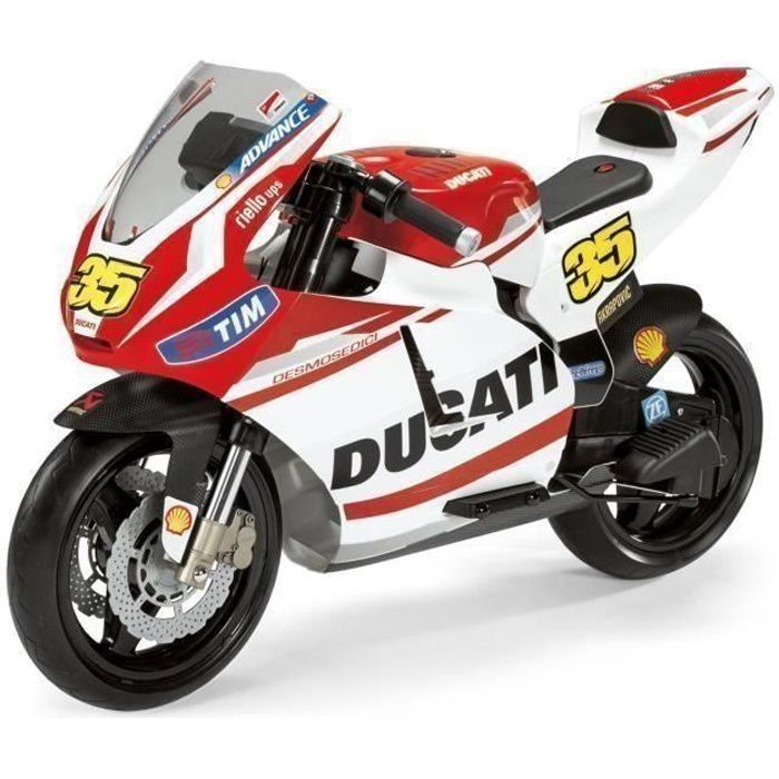 PEG PEREGO Moto Electrique Enfant Ducati 12 Volts