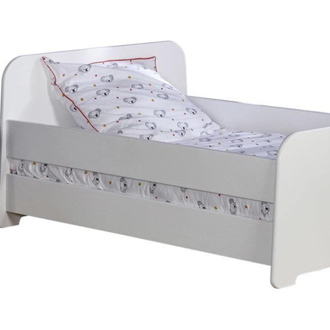 Barrière de lit Circé Blanc 140 cm