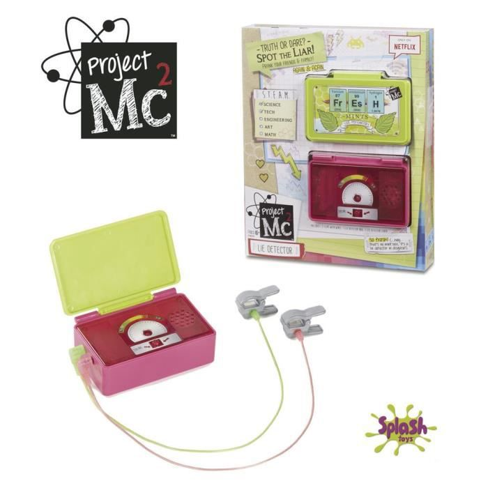 SPLASH TOYS Project MC2 Detecteur De Mensonge