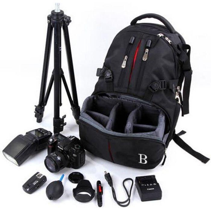 Sacs étanche pour appareil photo DSLR Sac à dos Rucksack sac pour Nikon Sony Canon Photo Bag pour appareil photo