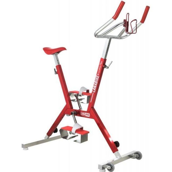 Aquabike Waterflex Lana Rouge - Vélo pour piscine