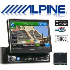 alpine nve 300511btr autoradio gps dvd divx cd achat vente autoradio alpine nve 300511btr. Black Bedroom Furniture Sets. Home Design Ideas